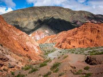 Red rocks Paseo de los Colorados