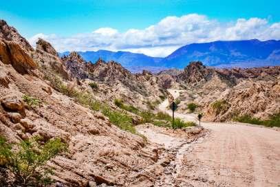 Road signs Quebrada de las Flechas