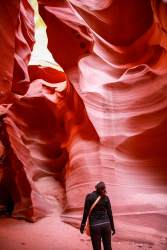 Antelope Canyon shapes