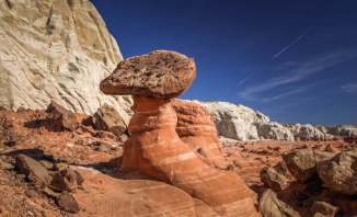 Paria Rimrocks hoodoos toadstool