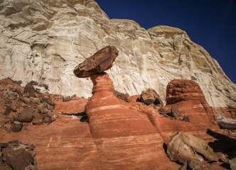 Paria Rimrocks hoodoos red rock