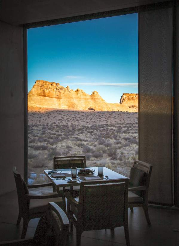 Coffee with a view Amangiri