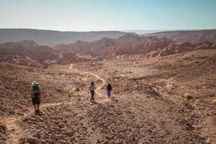 walking trail Devil's Canyon Atacama