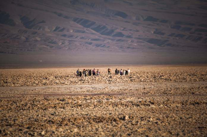 tour group Salar de Atacama