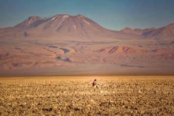 exploring Salar de Atacama