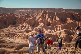 Overlooking Devil's Canyon Atacama