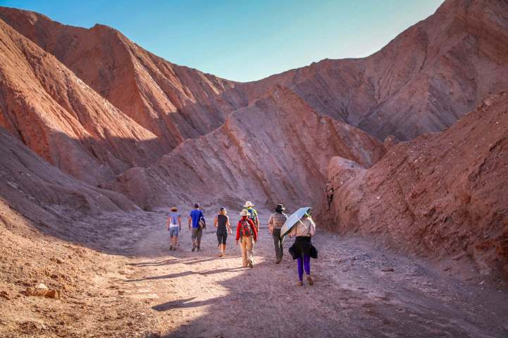 tour group Devil's Canyon Atacama
