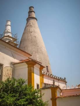 Pena Palace kitchen chimneys