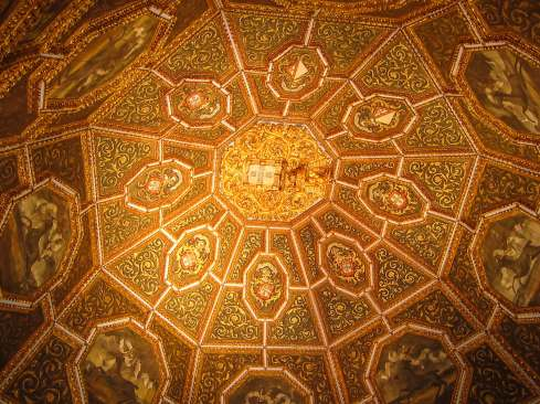 Pena Palace ceiling detail