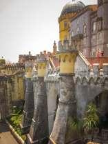 Sintra Palacio da Pena ramparts