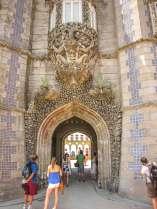 Sintra Palacio da Pena interior entrance