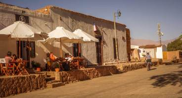 San Pedro de Atacama coffeeshop