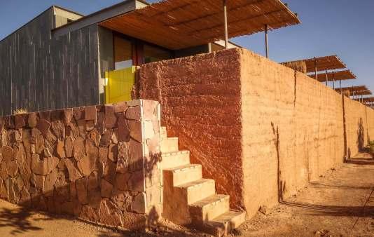 steps to room Tierra Atacama