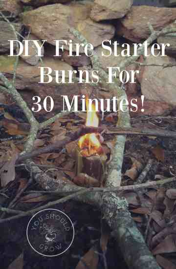 Make your own fire starters with items you already have in your house. These were free and easy to make and burned for 30 minutes. Fire starters are handy to keep around for campfires, bonfires, and any occasion where you need to quickly start a fire. DIY directions at YouShouldGrow.com
