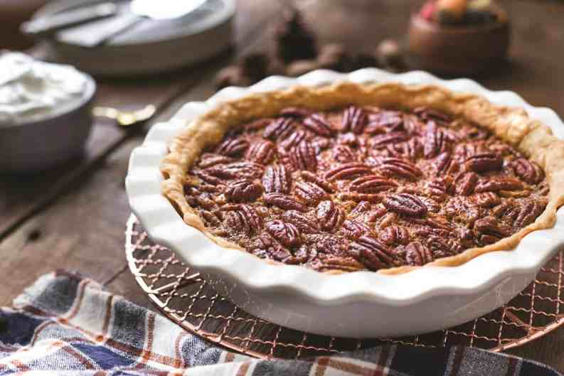 Pecan pie ready for holiday gatherings