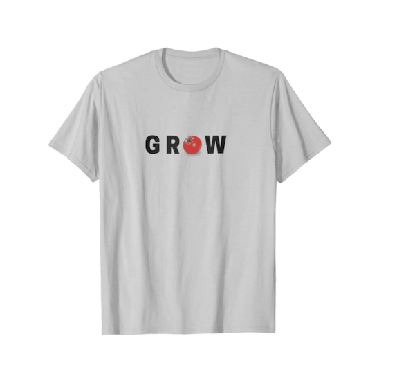 """Grow"" With Tomato ""O"" T-shirt"