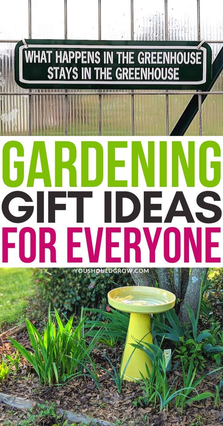 Gardening Gift Ideas - Gift Ideas - Gift Guide For Gardeners - What To Buy Gardeners - Christmas Gift Ideas - Birthday Gift Ideas - Friend Gift Ideas - Gift List - Best Garden Gifts - Gardening Gifts