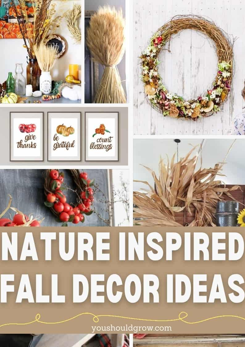 This autumn, natural elements are trending in decor for 2020. Take a look at these fall decorating ideas inspired by nature.