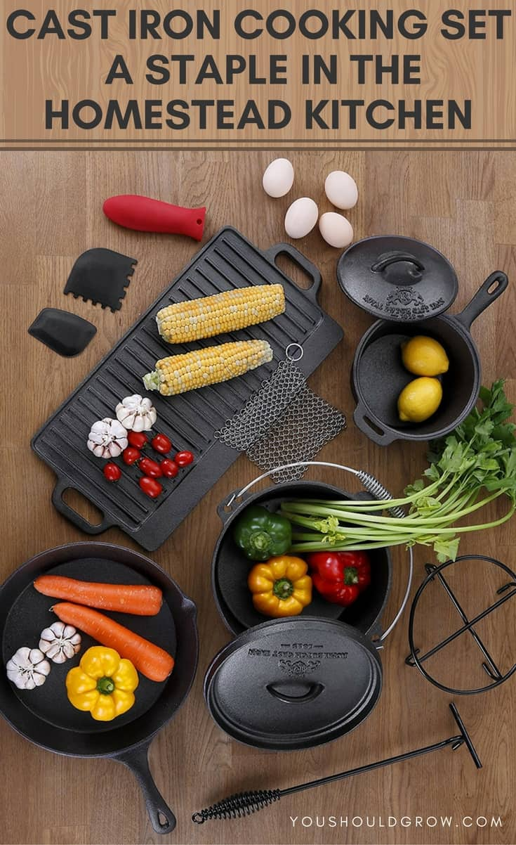 Cast Iron Cooking Set_ A Homestead Kitchen Staple
