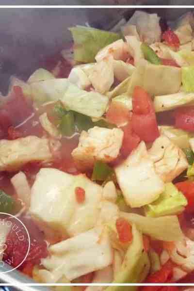 Florida Salad: a cabbage soup recipe