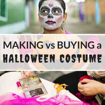 Should You Make Or Buy A Halloween Costume?