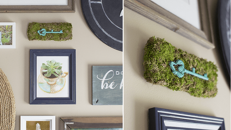 Moss decor ideas: DIY accent
