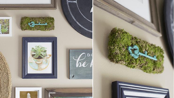 Moss decor ideas: DIY accent