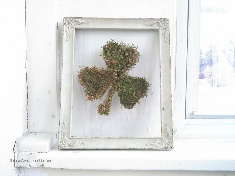 Shamrock / Saint Patrick's Day / Spring Moss Decor Idea