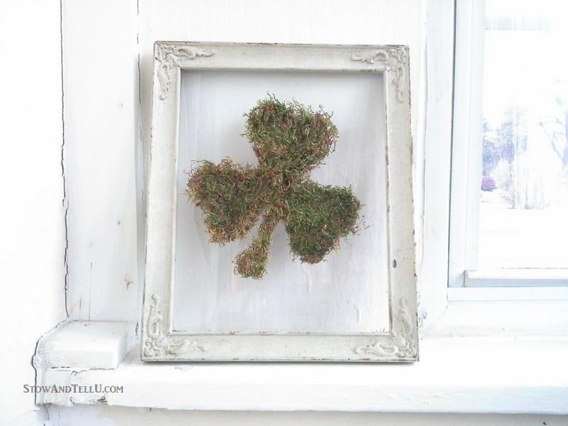 Shamrock / Saint Patrick's Day / Spring Moss Decor Idea