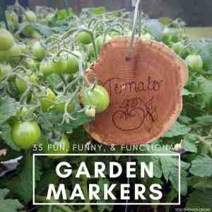 35 Garden Markers Ideas & Images To Inspire You