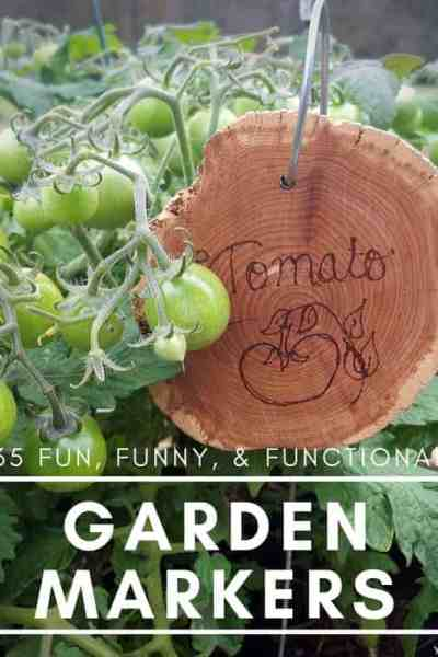 garden markers_ 35 ideas