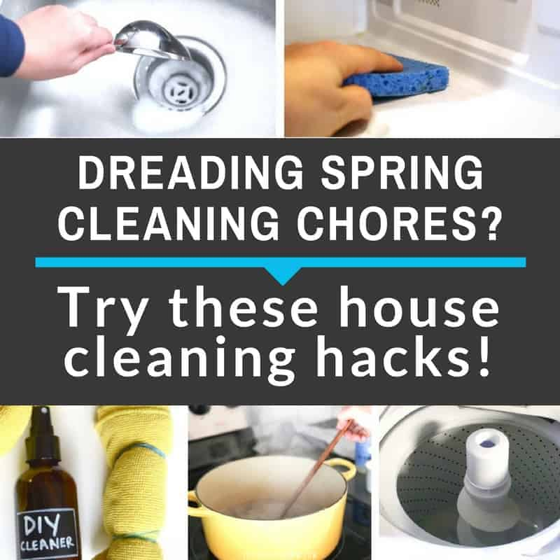 20 Ingenious House Cleaning Tips & Hacks