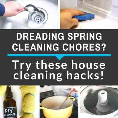 20 Ingenious House Cleaning Tips & Hacks – Save Tons Of Time!