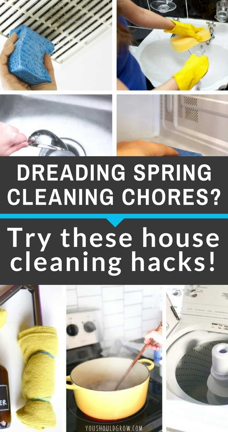 House cleaning tips: Hack your spring cleaning with these ingenious ideas. Homesteading | How To Clean | Inspiration To Clean House