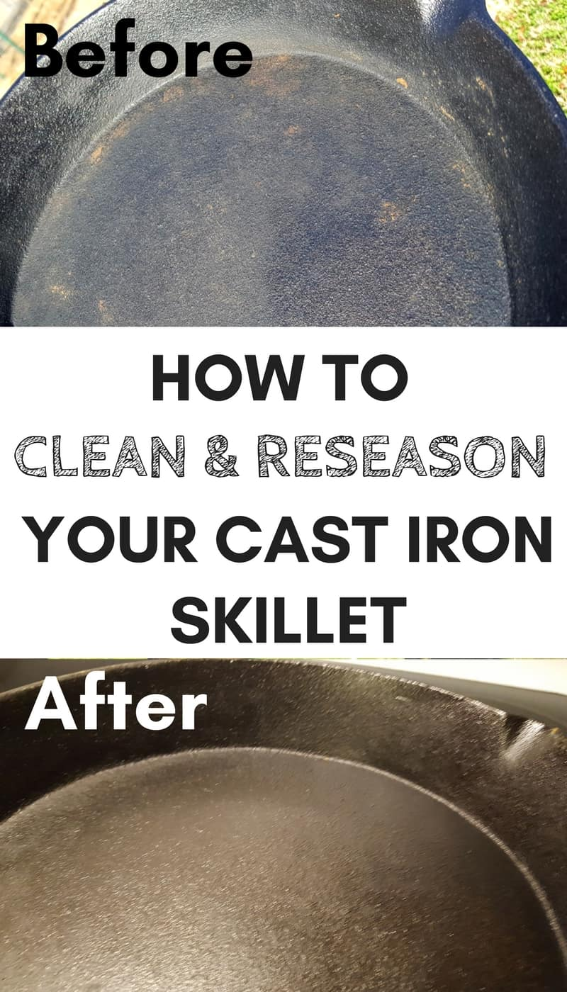Cast iron skillet cooking: 3 Easy steps to reseason a cast iron skillet