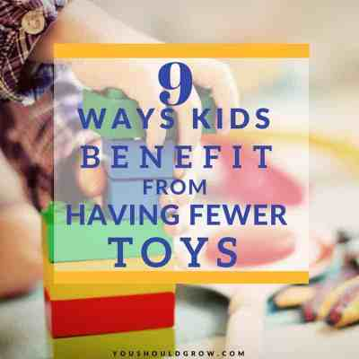 Why Your Family Will Be Happier With Fewer Toys