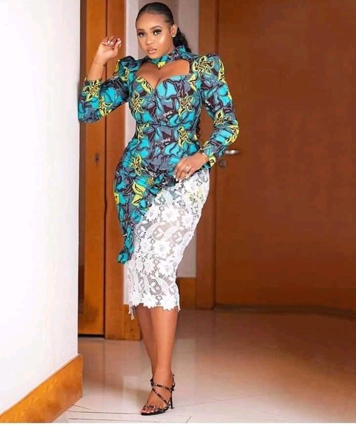 Ankara and lace styles