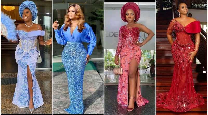 20 Asoebi Dresses for Wedding in Nigeria