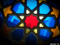 Stained Glass Window - Masjid-e-Khandaq, Saudi Arabia