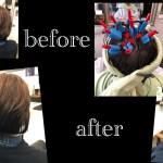 名古屋で後頭部のくせ毛が強くつむじ割れ、絶壁も解消するボリュームパーマ@塩釜口