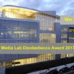 MIT Media Lab Disobedience Award 2017