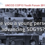 Apply to speak at the UNCCD COP13 Youth Forum 2017 in China