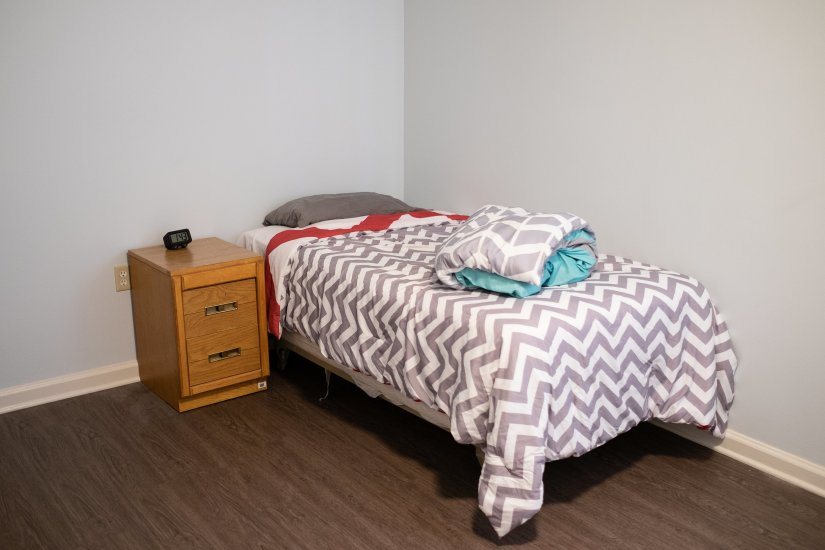 Pathways/Passages - Bed and nightstand