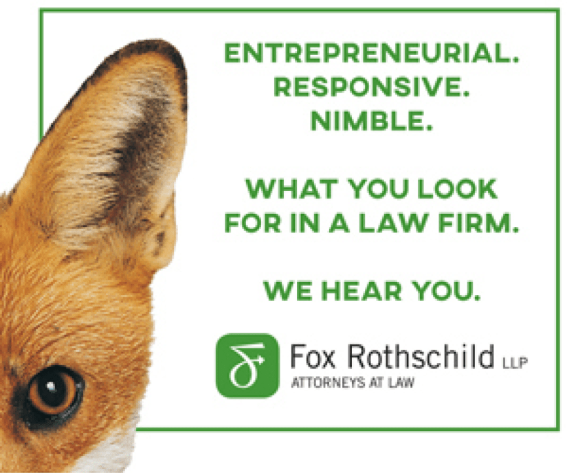 Fox Rothschild Ad