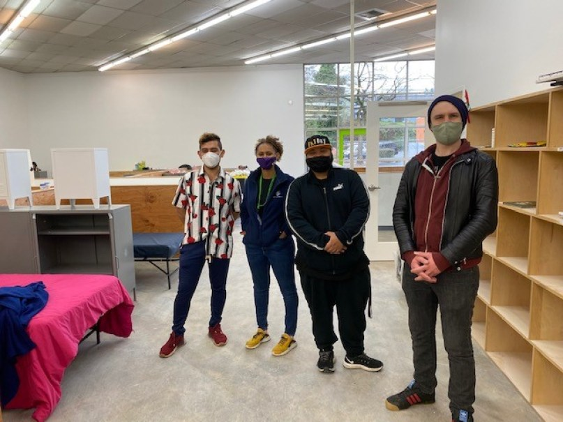 setting up south seattle shelter's new location!