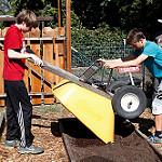 Boys with Wheelbarrow