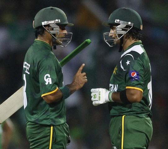 Mohammad Hafeez and Imran Nazir ICC Twenty20 2012