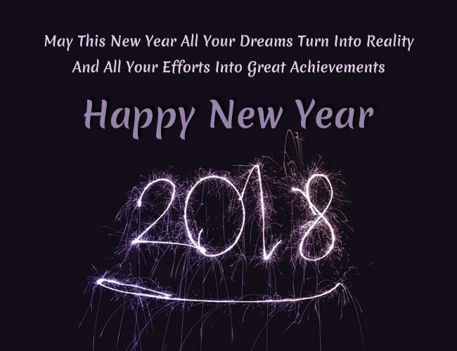 best new year wishes 2018 apart from common wishes