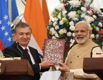 India, Uzbekistan set $1-bn bilateral trade target