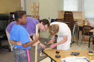 Summer Camp Woodworking
